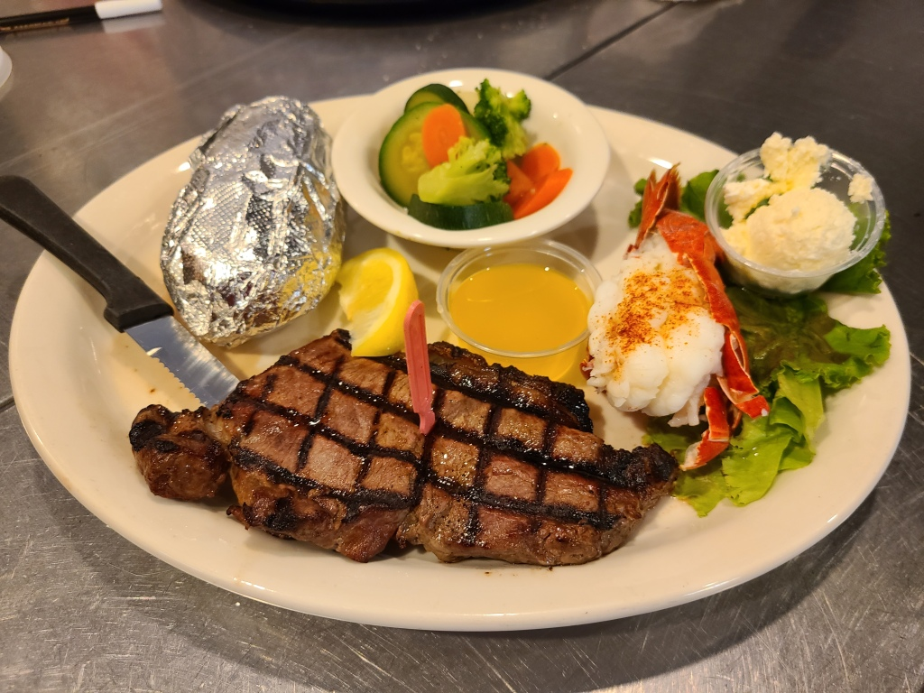 Steak & Lobster $13.99